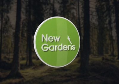 New Gardens – Animated 3D Logo Ident