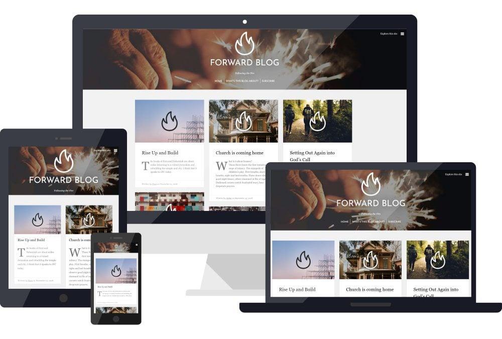 Forward – Blog Design & Publishing