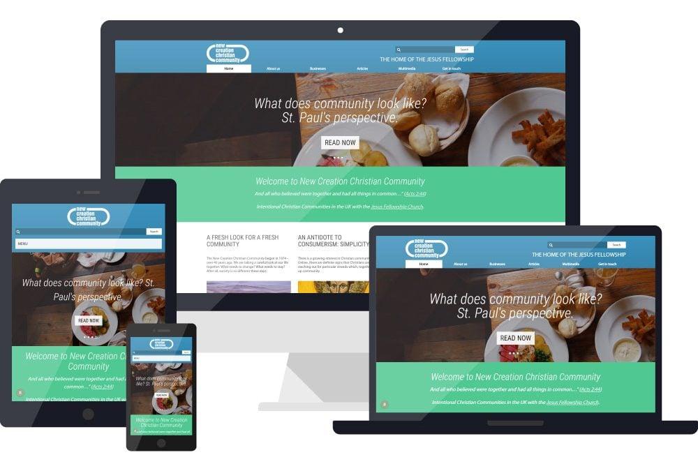 NCCC – Community Website Design