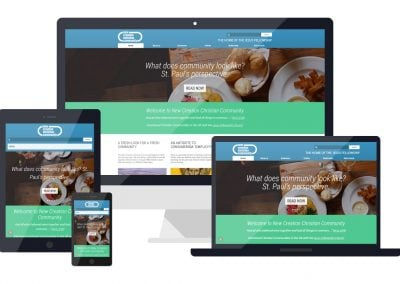 NCCC – Community Website Design