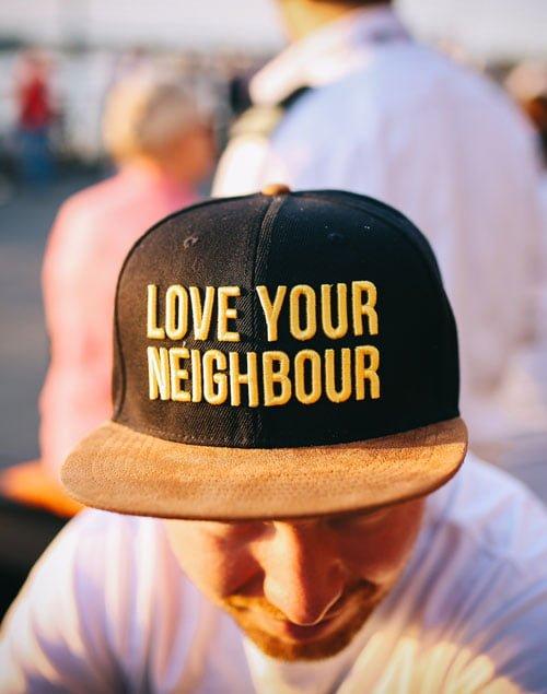 Love your neighbour cap