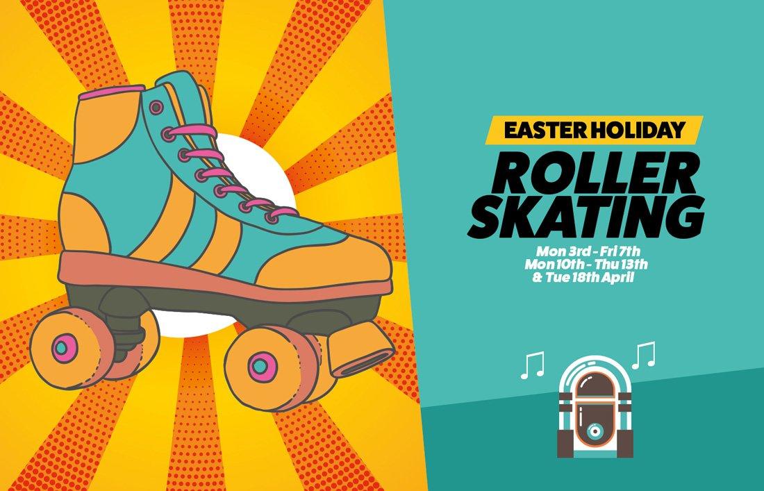 Roller skating leaflet