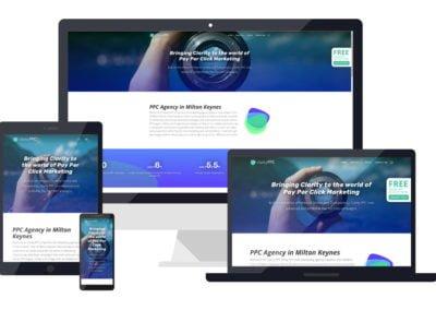 Clarity PPC branding and website design