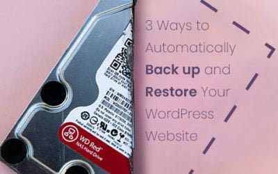 How to Automatically Backup and Restore a WordPress Website