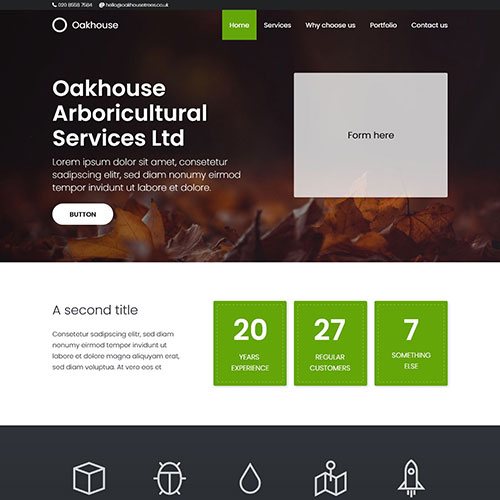Oakhouse website