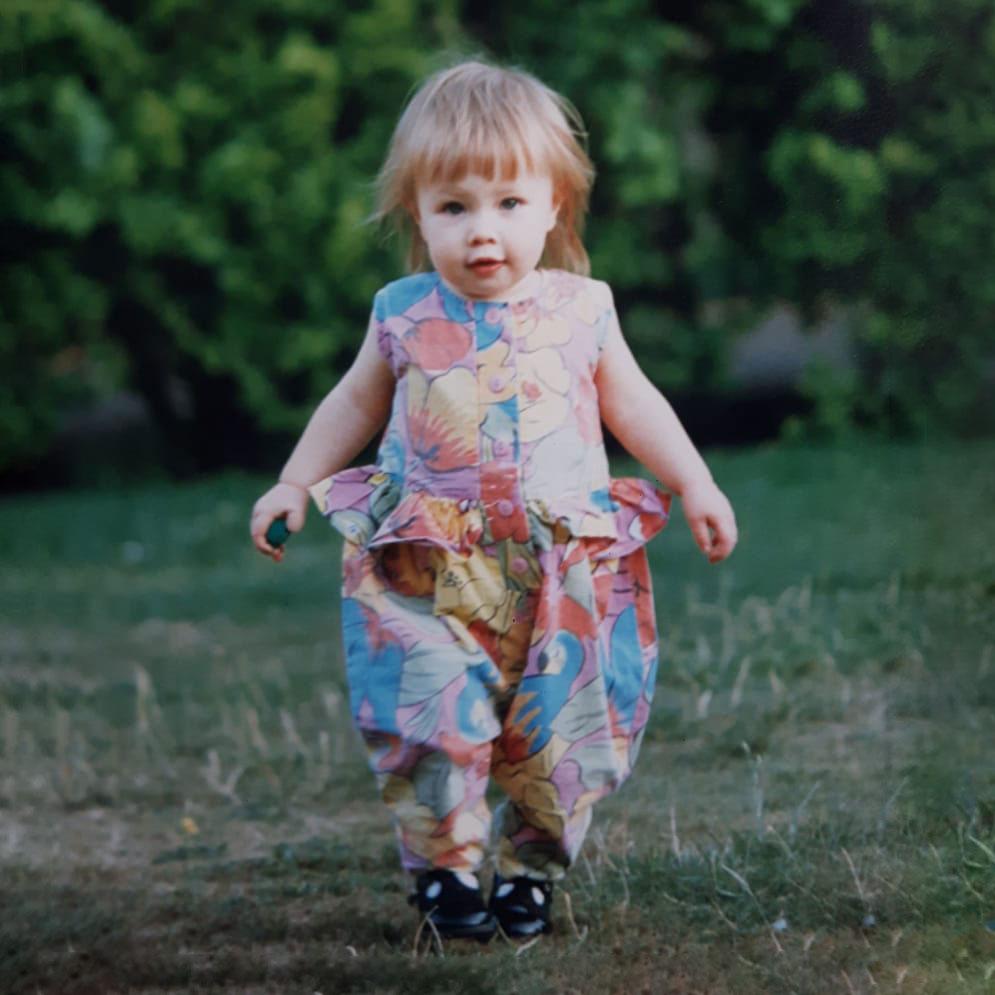 A younger Esme Clark