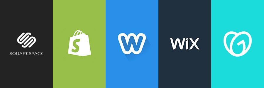 DIY website builder logos