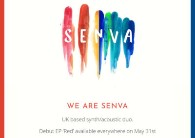 Senva – Band Website Design