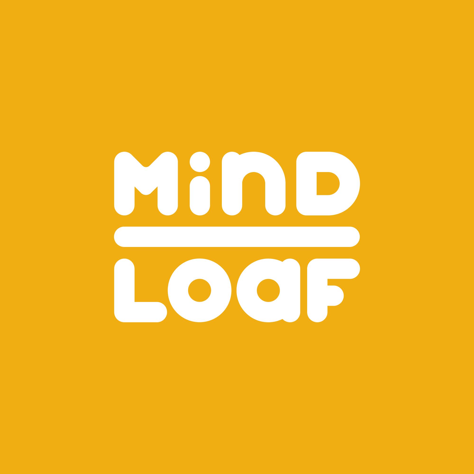 MindLoaf logo yellow