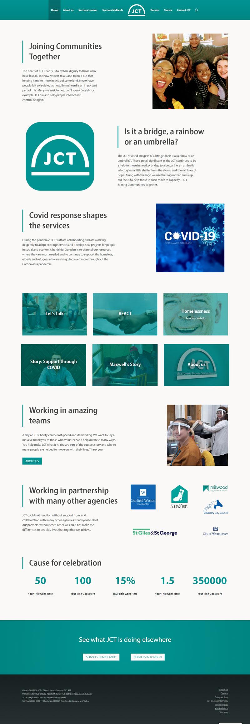 JCT homepage