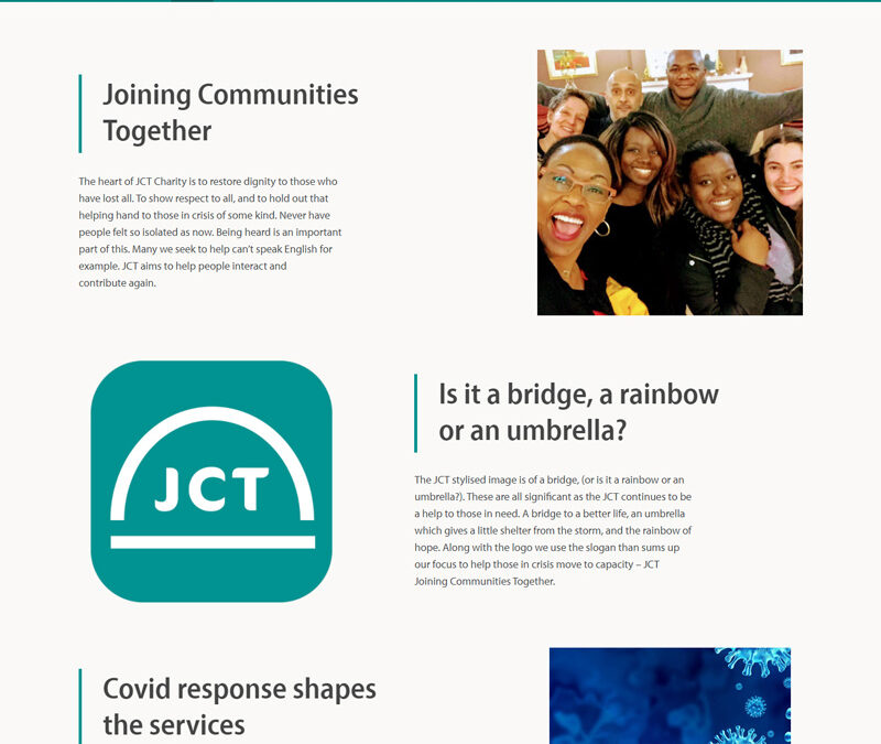 JCT Charity