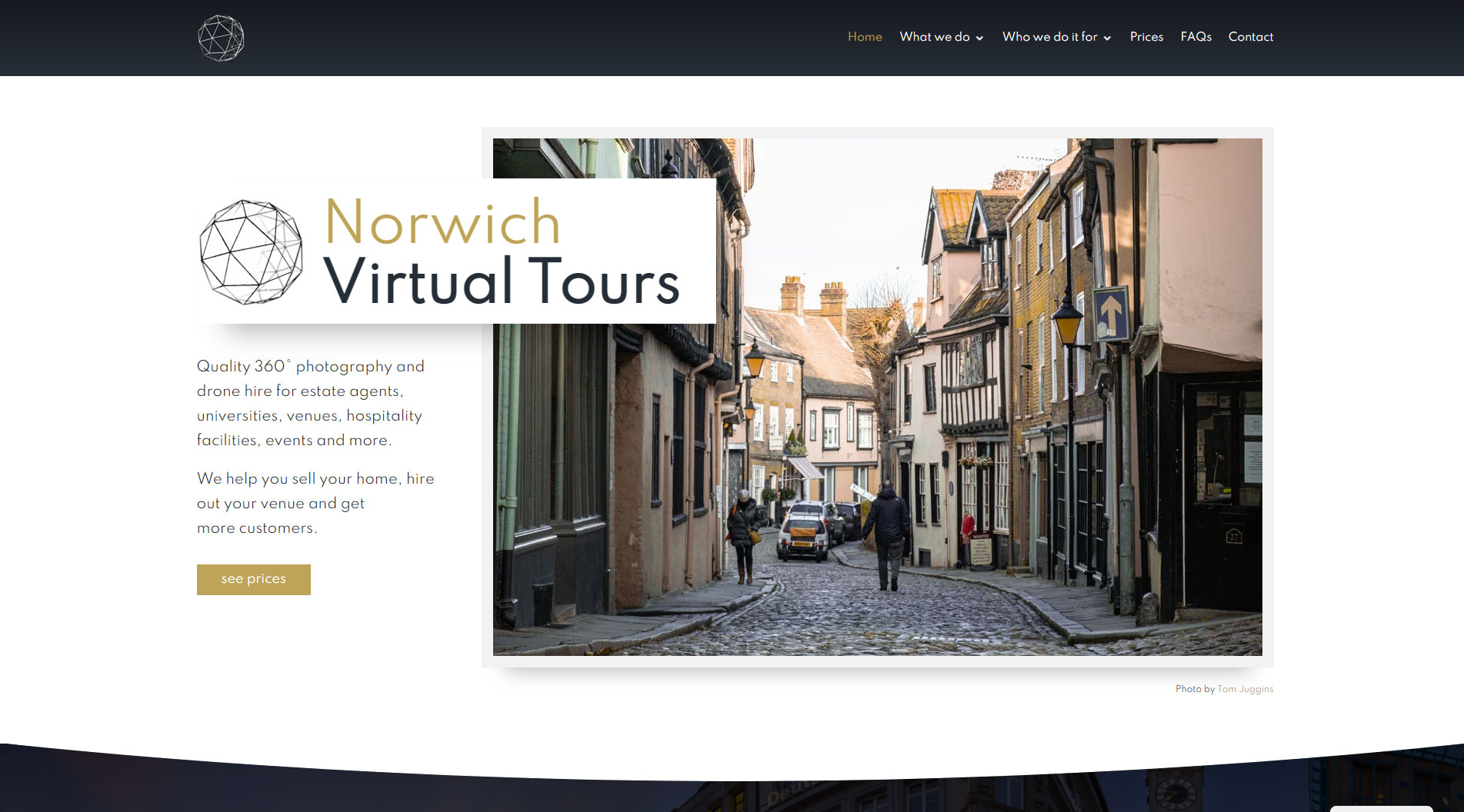 Virtual tour photographer in Norfolk